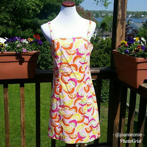 Lilly Pulitzer EX SQUEEZE ME Fruit Dress Size 8